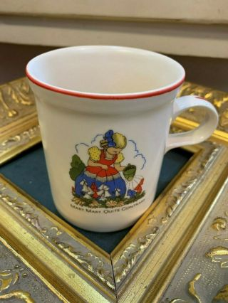 Vintage Kiln Craft Staffordshire England Mary Mary Quite Contrary Coffee Cup Eu
