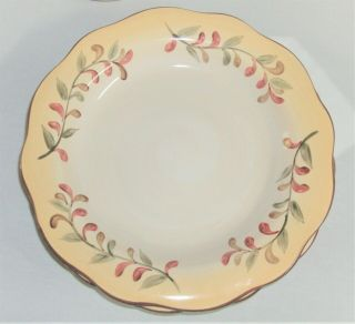"Tuscan Retreat 3 Dinner Plates 11 "" By Better Homes And Gardens"