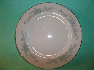 """Blue Fantasy By Royal Court Fine China 7 3/4 """" Salad Plate Crafted In Japan"""