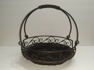Celebrating Home And Garden Party Oval Bean Pot Carrying Basket