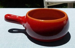 De Silva Italy Red Terracotta - Casserole / Bowl One Handle - Without Tag