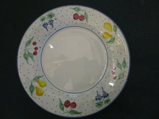 Mesa International Dinner Plate 11 1/4in.  1990 Hand Crafted In Italy Numbered.