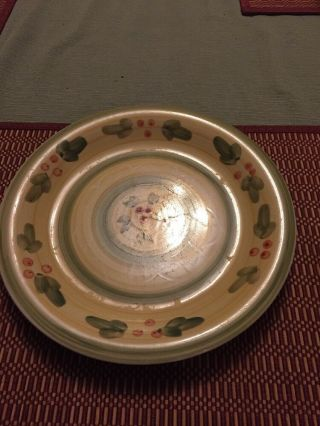 Tabletops Gallery French Provence Hand Crafted Dinner Plates