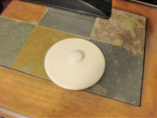 Replacement Lid For Home And Garden Party Usa Pottery Stoneware Pots Canisters