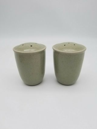 Mikasa China Cf401 Stone - Craft Newport Mist Salt & Pepper Shaker Gray