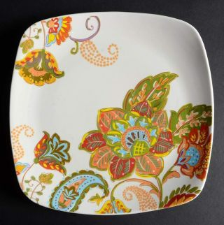 Better Homes & Gardens Floral Spray Square Dinner Plate 10098001
