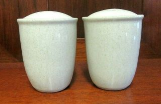 Mikasa China Cf403 Stone - Craft Malibu Dune Salt & Pepper Shaker Sand Color