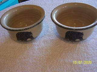 Set Of 2 Home & Garden Party Northwoods Soup/cereal Bowl