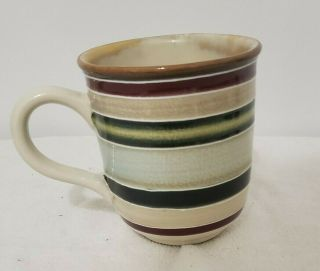 1 Mug Round - Tabletops Lifestyles Jentry Hand Painted/crafted