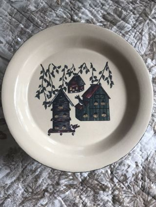 Home & Garden | Party Limited | Birdhouse Pattern Plate