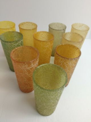 Mcm Color Craft Shat - R - Pruf Spaghetti String Drizzle Rubber Coated Tumblers - 10