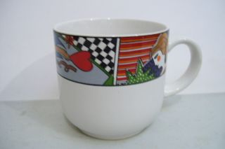 Vitromaster Metropolitan Coffee Tea Mug Cup No Saucer 1991 Crafted In Indonesia