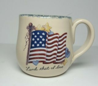 Home & Garden Party 2005 Flag Land That I Love Large Coffee Mug