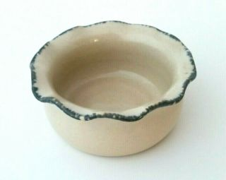Home & Garden Party Small Stoneware Dip Dish 1/2 Cup
