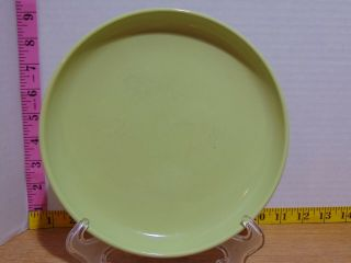 "Tabletops Gallery Stax Colore Hand Crafted Lime 8 "" Salad Plate"