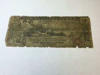 1886 United States One Silver Dollar Large Bill Silver Certificate