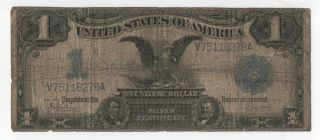1899 Black Eagle Silver Certificate Low