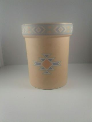 Treasure Craft Southwest Utensil Crock Made In Usa