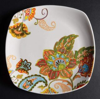 Better Homes & Gardens Floral Spray Square Salad Plate 10098003