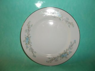 "Blue Fantasy By Royal Court Fine China 6 5/8 "" Bread Butter Plate Crafted Injapan"