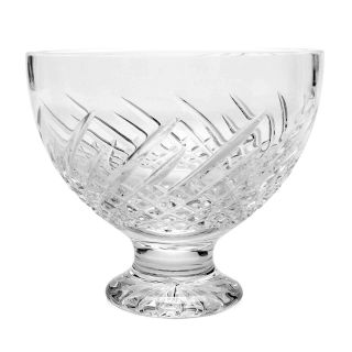 """Waterford Crystal Essentially Wave Hand - Crafted 5 """" Bowl"""