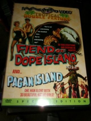 Fiend Of Dope Island/pagan Island Special Edition - Dvd Opened/not Watched