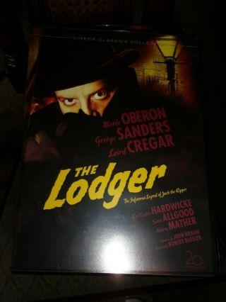 The Lodger Dvd - Fox Horror Classics - Opened/never Watched