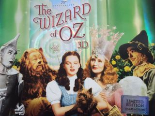 The Wizard Of Oz 75th Anniversary Limited Edition 3d Blu - Ray/dvd 5 - Discs