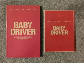 Baby Driver Screenplay Dvd For Your Consideration Screener Fyc Shooting Script