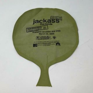 Jackass The Movie 2003 Vhs Dvd Promo Whoopee Cushion Fart Noise Joke Toy Mtv Nm,