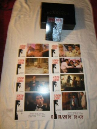 Black Box Containing Scarface Two - Disc Anniversary Edition Dvd And 8 Posters