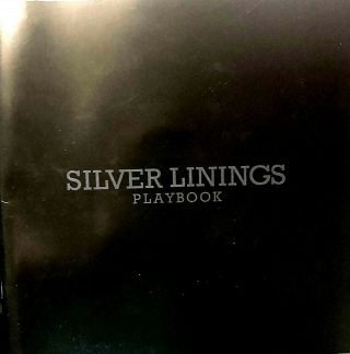 Silver Linings Playbook Oscars Press Book Bradley Cooper Lawrence Deniro,  2 Dvds