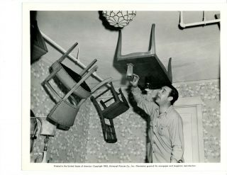 """"""" Lon Chaney """" Lc - P4 1943 """" Furniture On Ceiling """" Universal"""