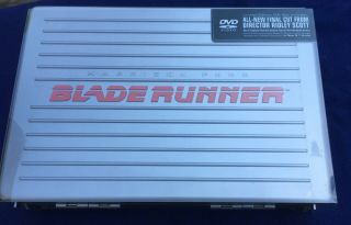 Blade Runner The Final Cut Limited Edition Gift Set.  No Dvds But All The Goodies