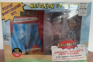 Napoleon Dynamite Flipping Sweet Collectors Set Dvd 2 Head Knockers