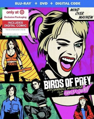 Dc Birds Of Prey - Target Exclusive With Digital Comic Blu - Ray,  Dvd No Digital
