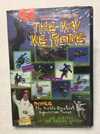 The Way We Rode Dvd Movie Supercross Racing Full Throttle Video