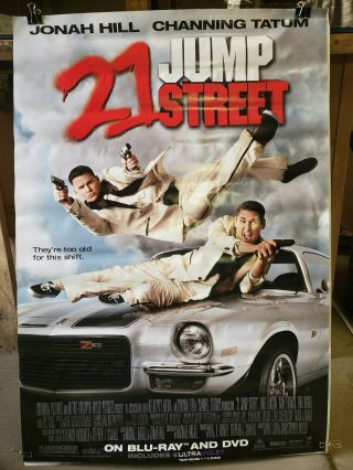 21 Jump Street 2012 27x40 Rolled Dvd Promotional Poster