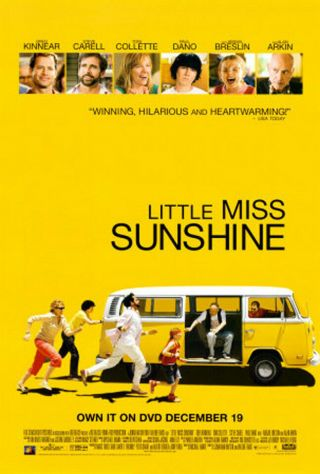 Little Miss Sunshine (2006) Dvd Poster - Single - Sided - Rolled