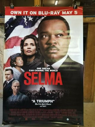 Selma 2015 27x40 Rolled Dvd Promotional Poster