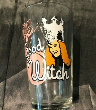 Wizard Of Oz Good Witch 16 Oz Drinking Glass Glinda Good Witch Of The South Vguc