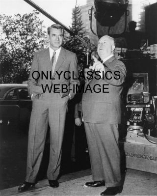 North By Northwest Alfred Hitchcock Cary Grant Mgm Camera Movie Set 8x10 Photo