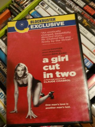 A Girl Cut In Two Dvd Claude Chabrol