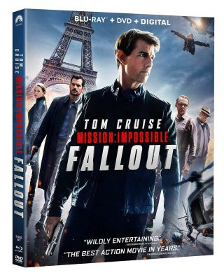 Mission: Impossible - Fallout,  Dvd,  Digital Hd With Slipcover