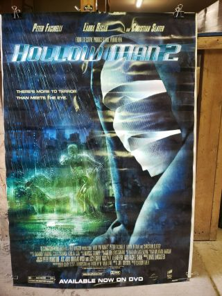 Hollow Man 2 2006 27x40 Rolled Dvd Promotional Poster