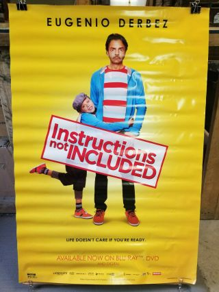 Instructions Not 2014 27x40 Rolled Dvd Promotional Poster
