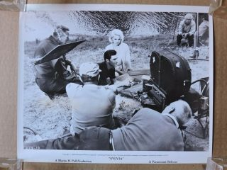 Carroll Baker George Maharis And Camera Crew Candid Porduction Photo 1964 Sylvia