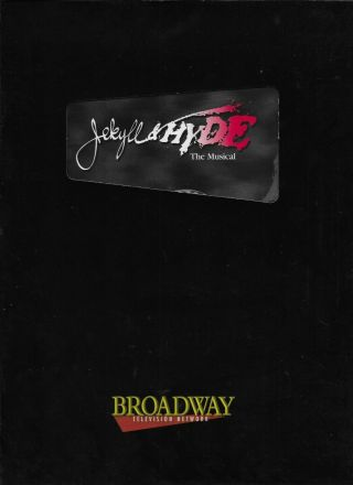 Jekyll Hyde,  The Musical Press Kit Complete W/dvd Very Fine Complete