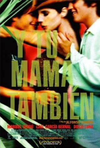 Y Tu Mama Tambien (2002) Dvd/video Poster - Single - Sided - Rolled