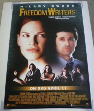 Freedom Writers Dvd Movie Poster 1 Sided 27x40